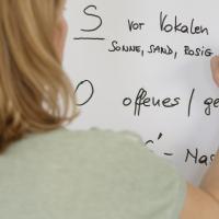 Workshop mit Pamela Grün