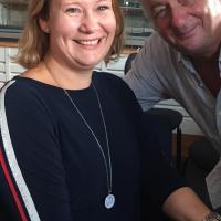Pamela Grün und Andreas Vitasek (Kabarettist)