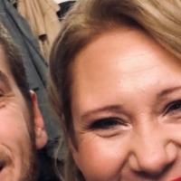 Nathan Trent (Sänger) und Pamela Grün